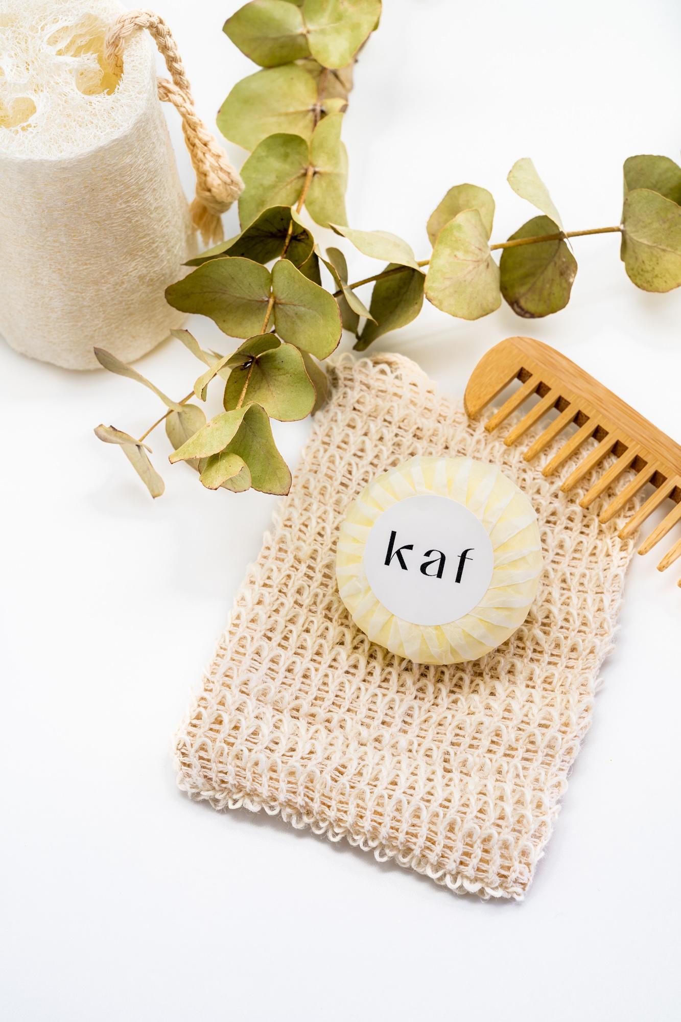 kaf cosméticos champú sólido